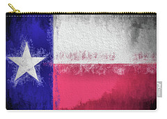 The Texas Flag Carry-all Pouch by JC Findley