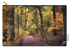 Carry-all Pouch featuring the photograph The Thain Forest by Jessica Jenney