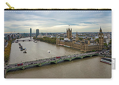 The Thames At Sunset Carry-all Pouch