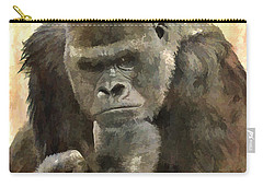 The Thinker Carry-all Pouch by Diane Alexander
