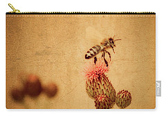 The Thistle And The Bee Carry-all Pouch
