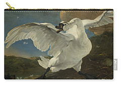 The Threatened Swan, 1650 Carry-all Pouch