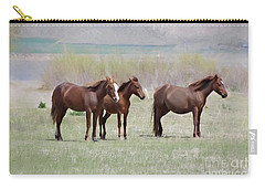 Carry-all Pouch featuring the photograph The Three Amigos by Benanne Stiens