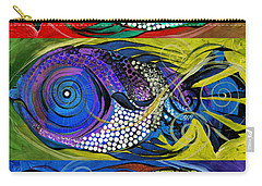 The Three Fishes Carry-all Pouch