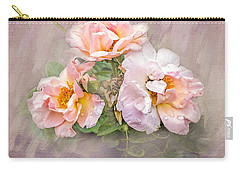 Carry-all Pouch featuring the photograph The Three Of Us by Betty LaRue