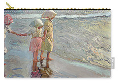 The Three Sisters On The Beach Carry-all Pouch