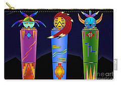 The Three Spirits Carry-all Pouch