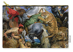 The Tiger Hunt Carry-all Pouch by Rubens