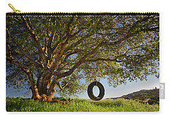The Tire Swing Carry-all Pouch by Endre Balogh
