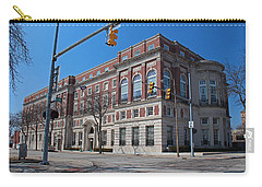 Carry-all Pouch featuring the photograph The Toledo Club by Michiale Schneider