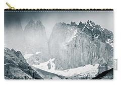 Carry-all Pouch featuring the photograph The Towers by Andrew Matwijec