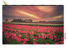Carry-all Pouch featuring the photograph The Tranquil Morning Before Sunrise by William Lee