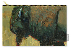Carry-all Pouch featuring the painting The Traveler by Billie Colson