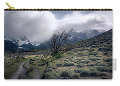 The Tree In The Wind Carry-all Pouch by Andrew Matwijec