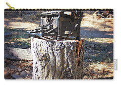 The Tree Killer Carry-all Pouch by Timothy Bulone