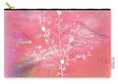 The Tree Of Life, Dedicated To Cancer Research Carry-all Pouch