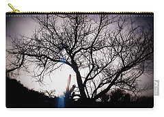 The Tree Of Wisdom Carry-all Pouch by Nature Macabre Photography
