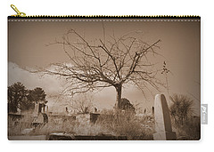 The Tree On Boot Hill  Carry-all Pouch by Nature Macabre Photography
