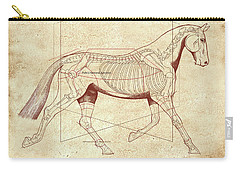 The Trot - The Horse's Trot Revealed Carry-all Pouch