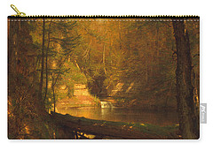 Carry-all Pouch featuring the photograph The Trout Pool by John Stephens