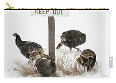 The Turkey Patrol Carry-all Pouch by Mike Dawson