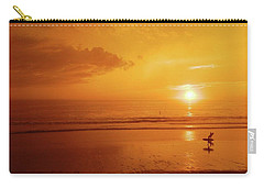 Carry-all Pouch featuring the photograph The Turning Tide by Everette McMahan jr