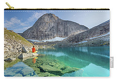 The Turquoise Lake Carry-all Pouch