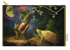 The Turtle Of The Moon Carry-all Pouch