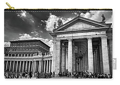 The Tuscan Colonnades In The Vatican Carry-all Pouch