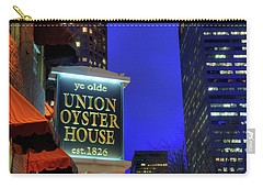 Carry-all Pouch featuring the photograph The Union Oyster House - Boston by Joann Vitali
