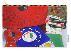 Carry-all Pouch featuring the painting The Universal Language by Lynne Reichhart