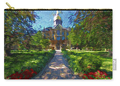 The University Of Notre Dame Carry-all Pouch