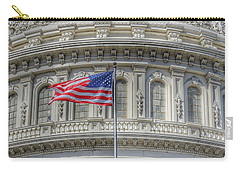 The Us Capitol Building - Washington D.c. Carry-all Pouch