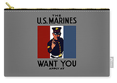 The U.s. Marines Want You  Carry-all Pouch