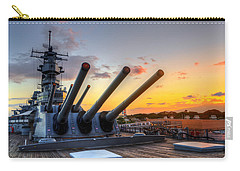 The Uss Missouri's Last Days Carry-all Pouch