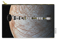 The Uss Savannah In Orbit Around Europa Carry-all Pouch