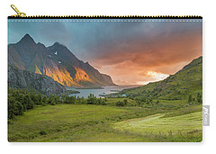 The Valley Of Light Carry-all Pouch