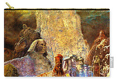 Carry-all Pouch featuring the painting The Valley Of Sphinks by Henryk Gorecki