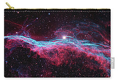 Carry-all Pouch featuring the photograph The Veil Nebula by Nasa