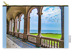 Carry-all Pouch featuring the photograph The Veranda by Paul Wear