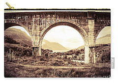 The Viaduct And The Loch Carry-all Pouch