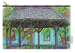 The Victorian Gazebo Sketched Carry-all Pouch by Kirt Tisdale