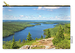 Carry-all Pouch featuring the photograph The View From Beech Mountain by John M Bailey