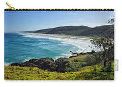 Carry-all Pouch featuring the photograph The View From Double Island Point by Keiran Lusk