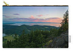 Carry-all Pouch featuring the photograph The View From Mt Erie by Ken Stanback
