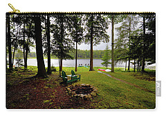Carry-all Pouch featuring the photograph The View From Northern Comfort by David Patterson
