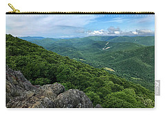 Carry-all Pouch featuring the photograph The View From Raven's Roost by Lori Coleman