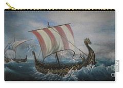 The Vikings Carry-all Pouch by Sorin Apostolescu