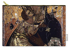 The Virgin Of Vladimir Carry-all Pouch by Granger