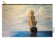 Carry-all Pouch featuring the painting The Voyage by Alan Lakin
